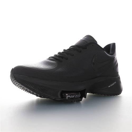 Nike Air Zoom WINFLO 37 X Leather 突破极致表现 2020全新耐克温夫洛37代马拉松气垫竞速慢跑鞋 冲孔皮革黑武士配色 CI9923-087