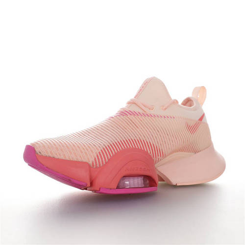 Nike Air Zoom SuperRep 酷似「破2」战靴 2020全新耐克超跑代表者健身训练系列轻量弓型运动慢跑鞋 品质提升版本 裸粉紫橘红配色 BQ7043-668