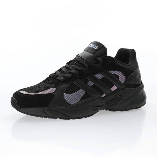 Adidas Neo CrazyChaos Shadow 黑蓝紫变色龙 FW3374