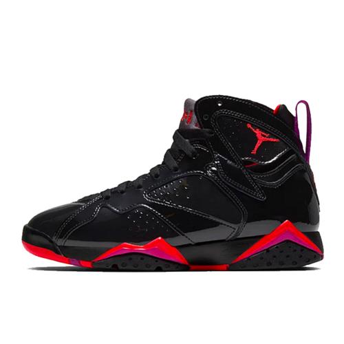 Air Jordan 7 WMNS 黑红漆皮万圣节配色 313358-006