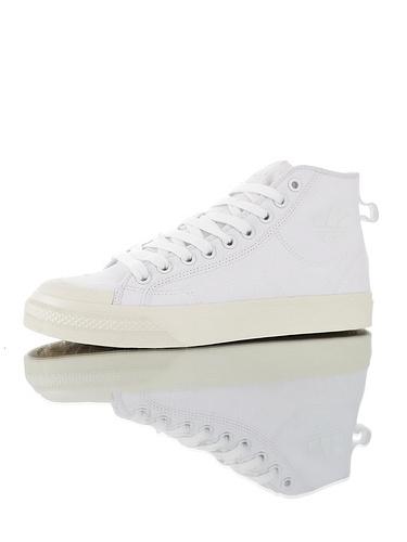 Adidas Nizza Blanc Bordeaux LO 2.0  超高品质 阿迪达斯半截式包胶头校园百搭休闲帆布板鞋 白米高配色