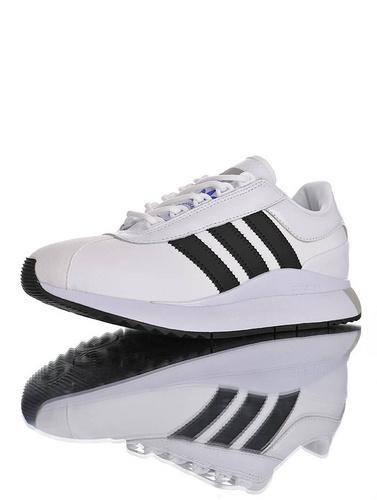 SL ANDRIDGE W 阿迪达斯 安德里奇系列复古休闲运动慢跑鞋 白黑灰配色 EF5545