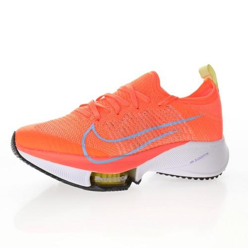 "Nike Air Zoom Tempo NEXT%""Orange/Purple/White/Yellow"" 鲜桔红浅紫黄白 CI9923-800"