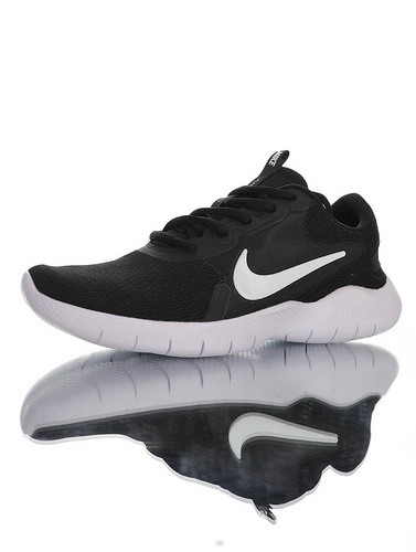 Nike Flex Experience RN 9 天猫长青基础款 耐克9代弹性实验系列轻量减震休闲慢跑鞋 黑白配色 CD0225-001