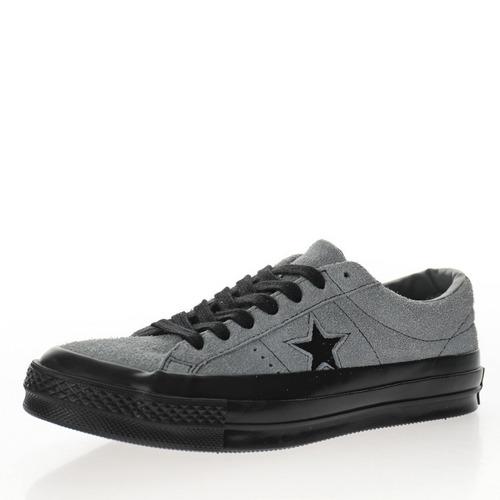 Converse One Star Suede OX 麂皮泥灰黑一星 169697C