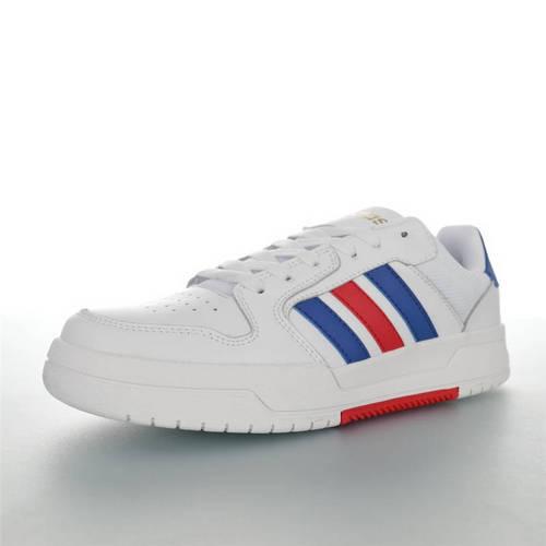 Adidas Neo ENTRAP 2020ss春夏新品 阿迪达斯追赶系列轻便休闲运动百搭板鞋 网白宝蓝红金配色 EH1668