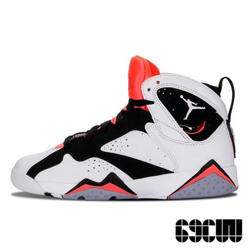 """Air Jordan 7 Retro """"Hot Lava"""" GS 火焰红配色  442960-106"""