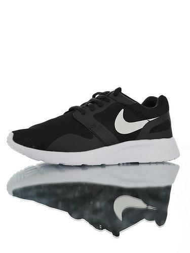Nike Wmns Kaishi NS 原装透气双层呼吸面料 具开发打造 原比值轻量EVA发泡大底 耐克经典开始小跑三代休闲百搭跑步鞋 黑白配色