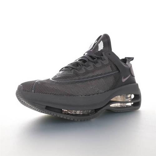 Nike WMNS Zoom Double Stacked 2020全新耐克 双层8块堆叠气垫前卫超跑竞速运动慢跑鞋 半透明碳灰配色 CI0804-600