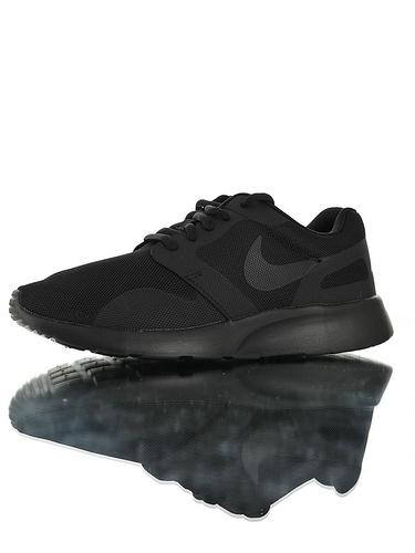 Nike Wmns Kaishi NS 原装透气双层呼吸面料 具开发打造 原比值轻量EVA发泡大底 耐克经典开始小跑三代休闲百搭跑步鞋 黑魂配色