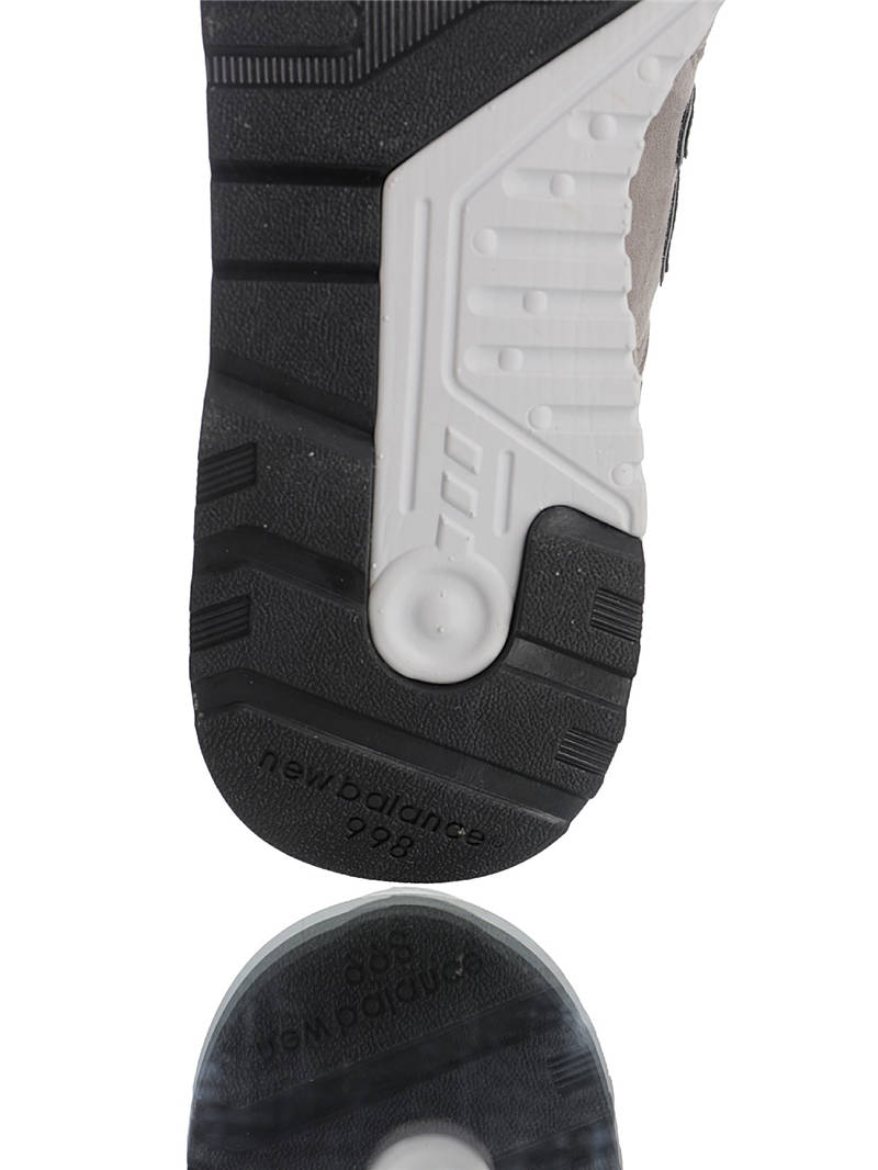 "New Balance M998BLA ""慢跑鞋之王""再度回归 台产丝光麂皮制 原装5层独立区域组合大底 具原材料打造 高端美产血统系列 祖灰深灰银3M配色"