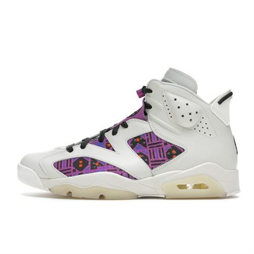 "Air Jordan 6 Retro ""Quai54"" 法国街球白紫 CZ4152-101"