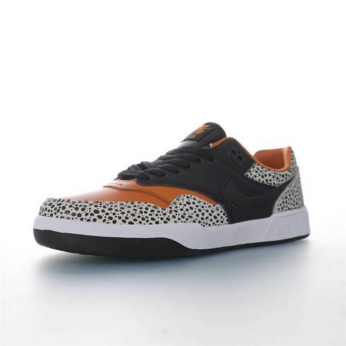 Nike SB GTS Return PRM 致敬经典鞋款 耐克重返系列休闲运动缓震滑板板鞋 黑棕珍珠鱼配色 CD4990-001