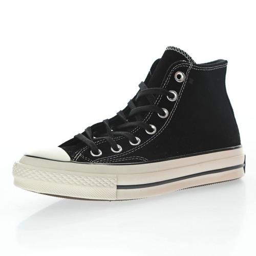 "Converse Chuck Taylor 1970 Suede""Black/White"" 麂皮黑面白底 169336C"