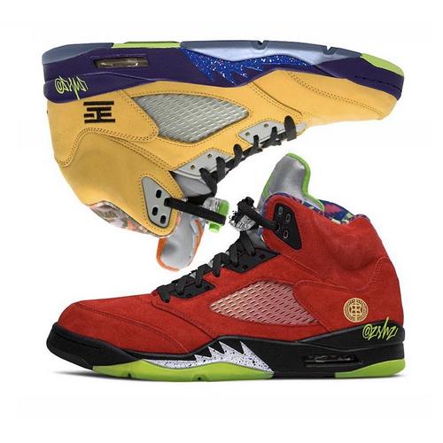 "Air Jordan 5 ""What The"" 王炸合体配色 CZ5725-700"