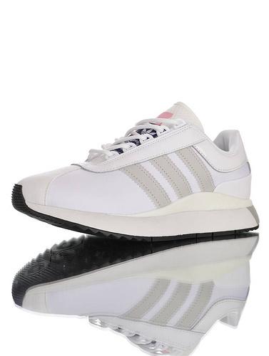 SL ANDRIDGE W 阿迪达斯 安德里奇系列复古休闲运动慢跑鞋 白灰粉配色 EF5546