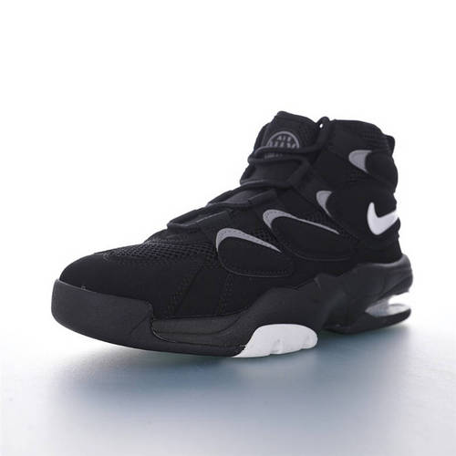 Nike Air MaxUptempo 2 94 QS 耐克皮蓬二代94系列经典高街百搭休闲运动文化篮球鞋 黑白灰配色 472490-010