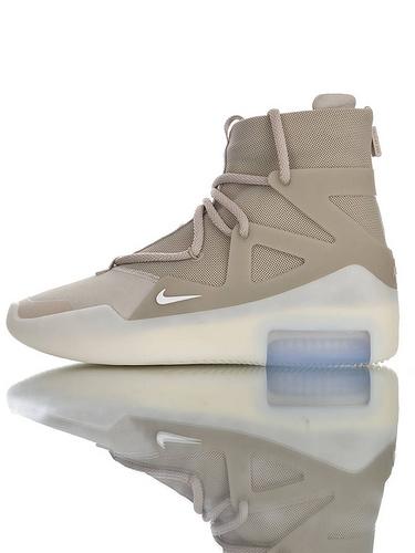 【40---48】Fear of God x Nike Fear of God 1 2019神级之鞋 恐惧之神联名 高丝光牛津网布 韩国进口拉链扣 充正混卖级别 搭载真纤维柱 大地配色