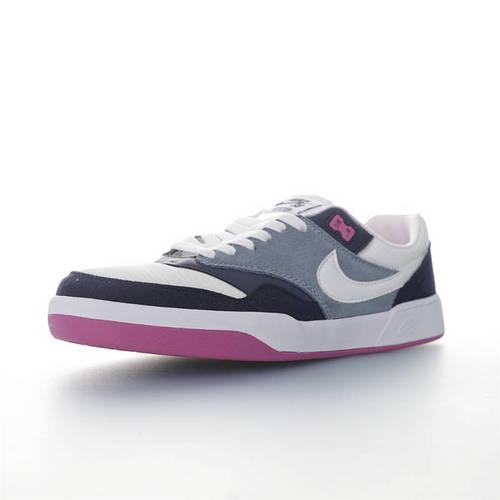 Nike SB GTS Return PRM 致敬经典鞋款 耐克重返系列休闲运动缓震滑板板鞋 深蓝灰白紫配色 CD4990-401