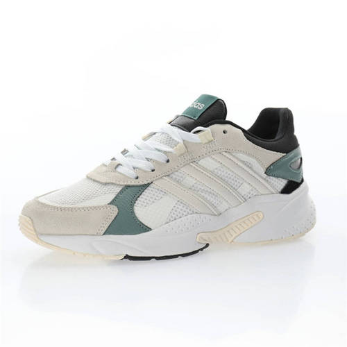 Adidas Neo CrazyChaos Shadow 米白奶灰黑祖母绿 FY7824