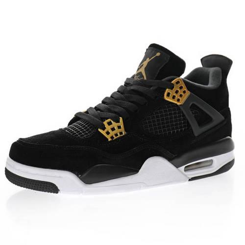 """Air Jordan 4 Retro""""Royalty"""" 华贵黑金 308497-032"""