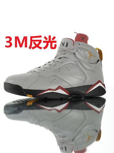 "Air Jordan 7 Retro SP""Reflections Of A Champion"" 超强3M反光 大巴黎3M反光三连冠配色 BV6281-006"