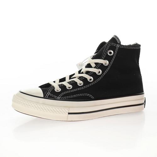 "Converse Chuck Taylor All Star 1970 High""Black/Velvet"" 加绒黑内里""162050C"