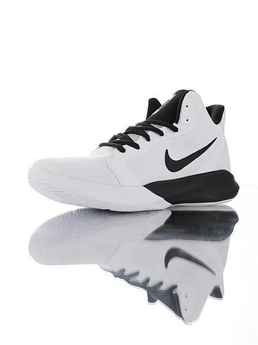 "Nike Precision III ""White Black"" 全新入门级球鞋 耐克精密三代系列休闲运动文化篮球鞋 白黑配色"
