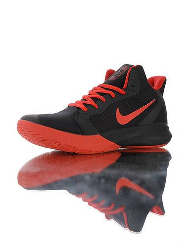 "Nike Precision III ""Black University Red"" 全新入门级球鞋 耐克精密三代系列休闲运动文化篮球鞋 黑大学红配色"