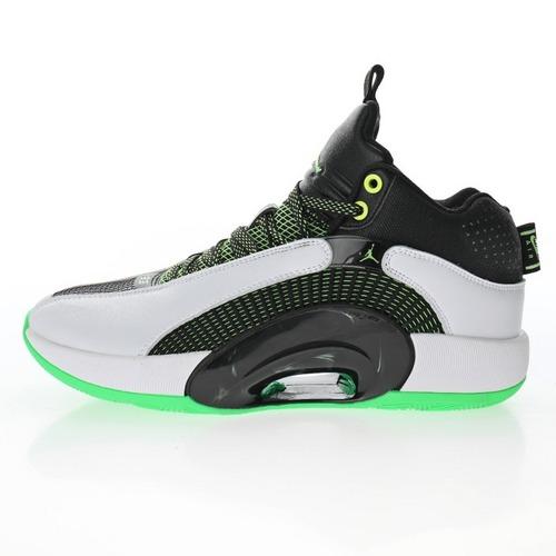 """Air Jordan XXXV SP-TP PF""""White/Black/Volt"""" 白黑荧光绿""""DA2372-126"""