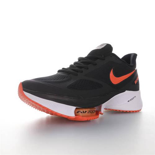 Nike Air Zoom WINFLO 37 X 耐克温夫洛37代马拉松气垫轻量超跑竞速运动慢跑鞋 网眼布黑橘白配色 CI9923-088