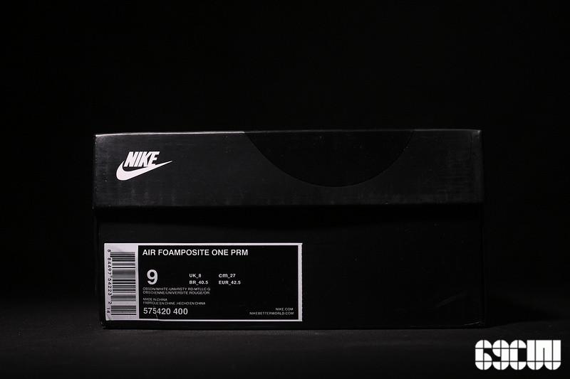 "【38.5---46】【东莞货】Nike Air Foamposite One ""Olympic"" 真标真碳纤 奥运喷配色 575420-400"