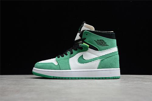 "Air Jordan 1 Zoom CMFT ""Stadium Green"" 白绿 CT0979-300"