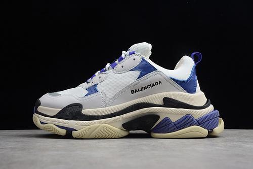 八层组合大底 GZ版本 巴黎世家 白蓝紫 ECBA7006B 男女鞋