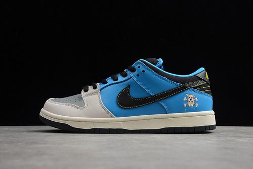 SB板鞋 低帮 灰蓝CZ5128-400