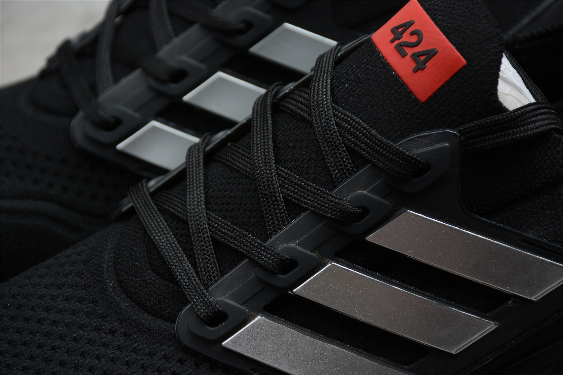 阿迪 UltraBoost 21 UB21 爆米花跑鞋 黑白红 GV9716