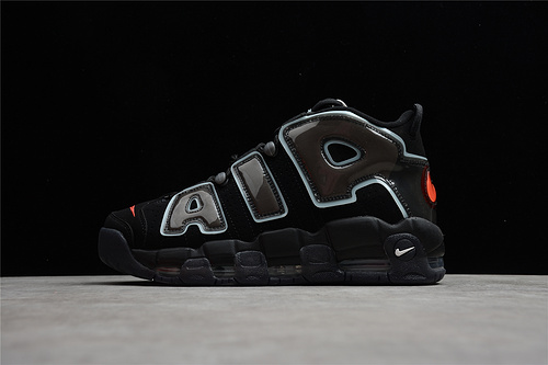 Nike Air More Uptempo 皮蓬  黑 DJ4633-010