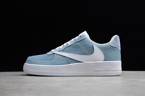 空军倒勾联名 蓝白 CD8619-141 男鞋