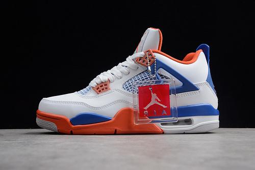 AJ4 白蓝橘308497-171 男鞋