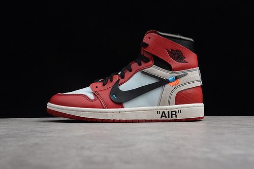 ST 版本 AJ1 OW 芝加哥  AA3837-101 男女鞋