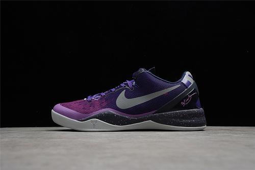 "Kobe 8 Playoffs""Purple Platinum"" 科比8 渐变紫 555035-500"