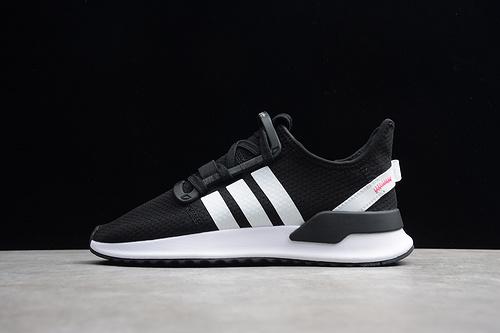 阿迪U_PATH RUN PLR 黑色G27639 男女鞋