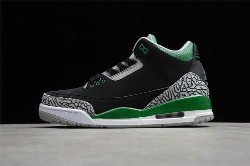 "GZ版本 Air Jordan 3""Pine Green"" 松绿 CT8532-030"