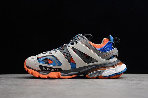 GZ版本 巴黎世家 蓝米橘ECBA8004665D 男女鞋