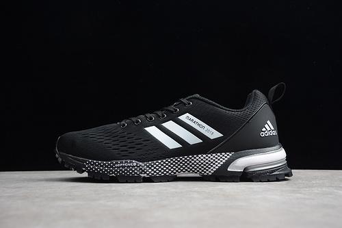 马拉松真爆 黑白BW0101 男女鞋