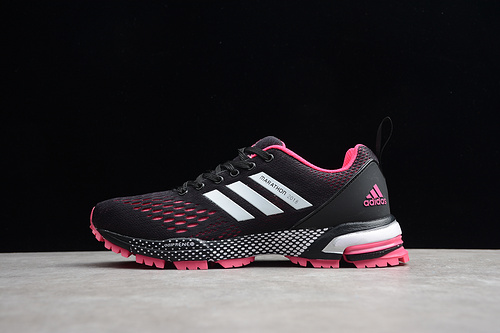马拉松真爆 黑白粉BW0103 女鞋