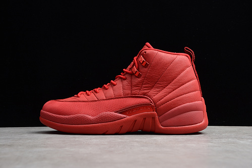 AJ12  篮球鞋 中国红130690-601