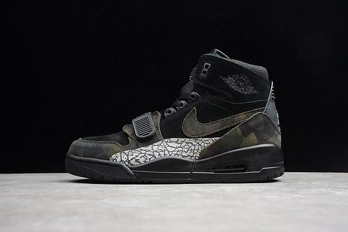 AJ312  黑绿灰 AV3922-003 男鞋