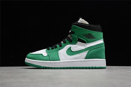 "Air Jordan 1 Zoom CMFT ""Stadium Green"" 白绿 CT0978-300"