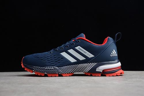 马拉松真爆 蓝白橘BW0102 男鞋